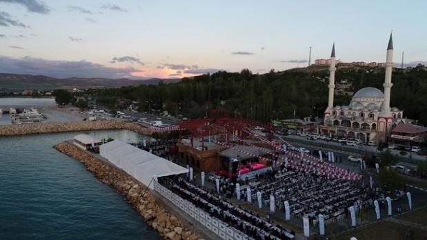 Doğu Anadolu Bölgesi'nin en kapsamlı iftar çadırı
