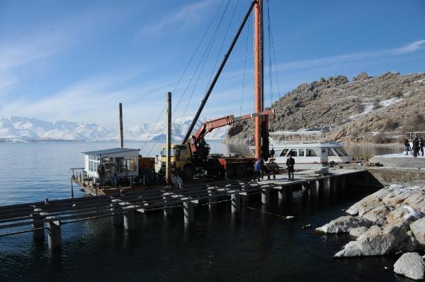 Akdamar Adası'na yeni iskele