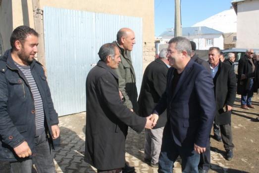 Necdet Takva'dan Başkale-Saray ziyaretleri