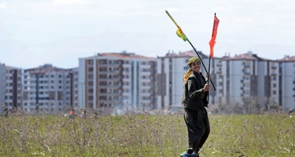 Diyarbakır Newroz'undan fotoğraflar