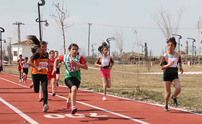 Van'da koşu yarışması