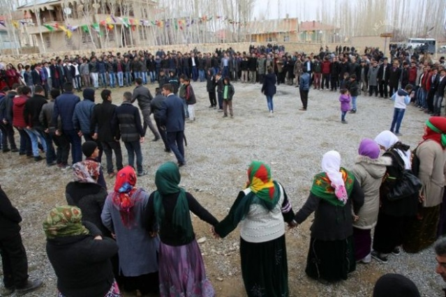 2016 Başkale Newroz'undan fotoğraflar