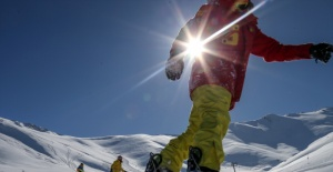 "Snowboard meraklısı esnaf ""Nusret Akımı""na kapıldı"