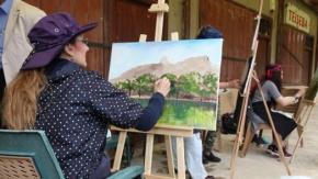 İpekyolu Resim Sanat Günleri Büyük İlgi Gördü