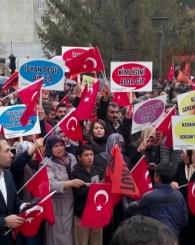 Küresünniler'den Ak Partiye boykot