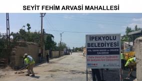 İpekyolu belediyesinin yol çalışmaları