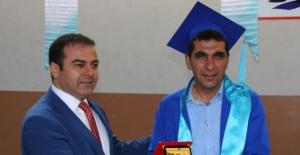 Erciş MYO'da mezuniyet töreni