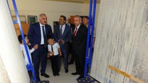 Türk el sanatları teşhir ve tanzim salonu törenle açıldı