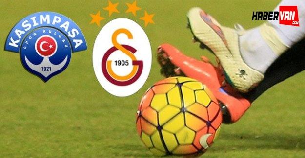 Canlı Kasımpaşa-Galatasaray maçını canlı takip TRT RADYO dinle!Paşa-Gs maç kaç kaç!