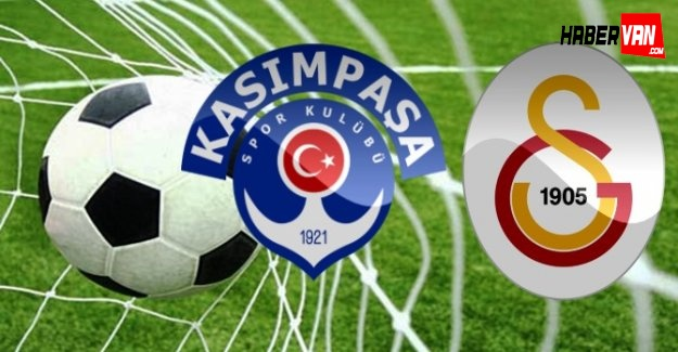 Kasımpaşa Galatasaray maçı ne zaman saat kaçta oynanacak!