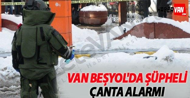 Van Beşyol'da Şüpheli Çanta Alarmı!Van haberleri