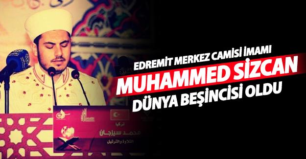 Edremit merkez camii imamı Muhammed Sizcan dünya beşincisi oldu! - Van Haber