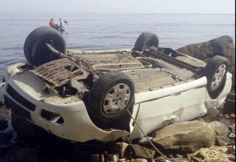 Tekirdağ'da araç uçuruma uçtu: Mertcan Keçeci,Ali Öztaş ve 2 kişi öldü