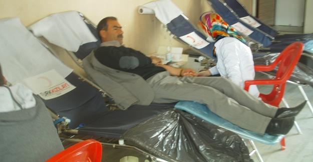 Van'ın Özalp ilçesi'nde kan bağışı - Van Haber