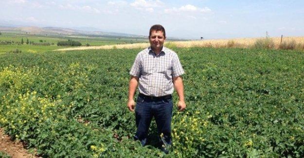 Yüzüne kör tapa isabet eden çiftçi öldü