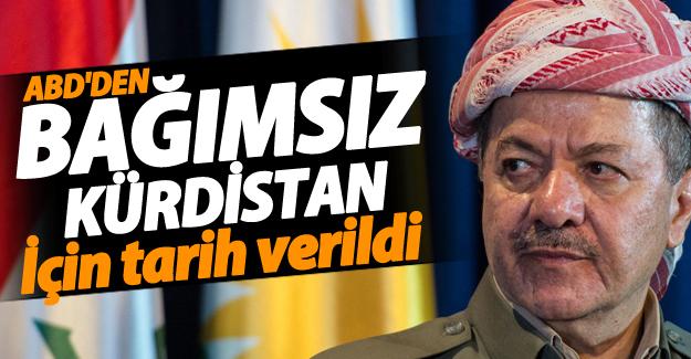 ABD'den 'bağımsız Kürdistan' için tarih verildi