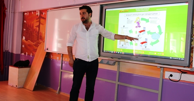 Edremit Belediyesi Okullarda Geri Dönüşüm Semineri