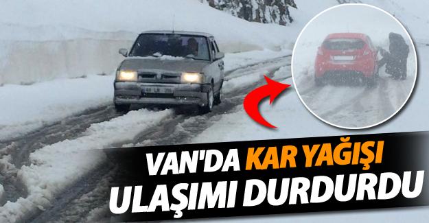 Tarih 4 Mayıs: Bahçesaray'da kar yağışı ulaşımı durdurdu - VAN HABER