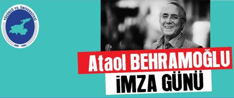 YYÜ'de Ataol Behramoğlu imza günü - Van Haber