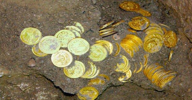 13 milyon dolarlık altın bulundu