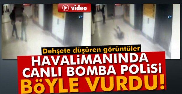Atatürk Havalimanı'na saldıran canlı bomba polis memurunu böyle vurdu