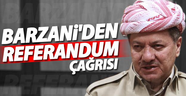 Barzani'den referandum çağrısı