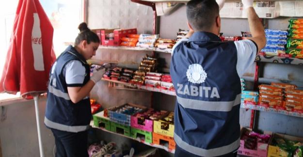 Edremit'te zabıtalardan işletmelere Ramazan denetimi