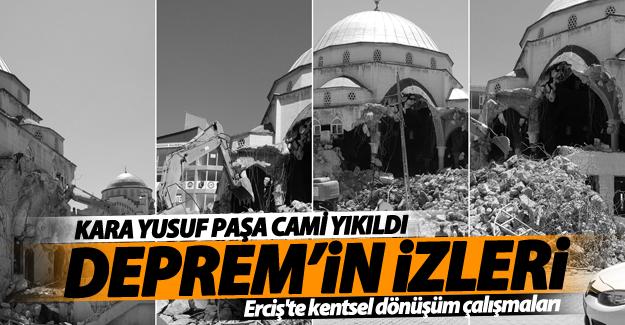 Erciş'te kentsel dönüşüm çalışmaları