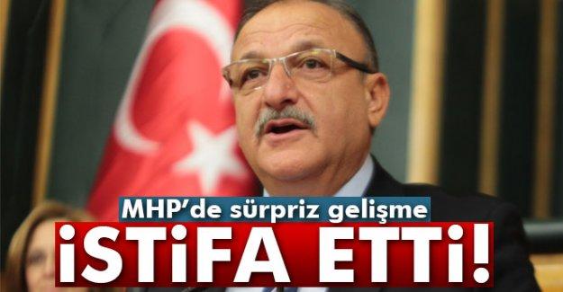 MHP'li Oktay Vural'dan şok istifa kararı