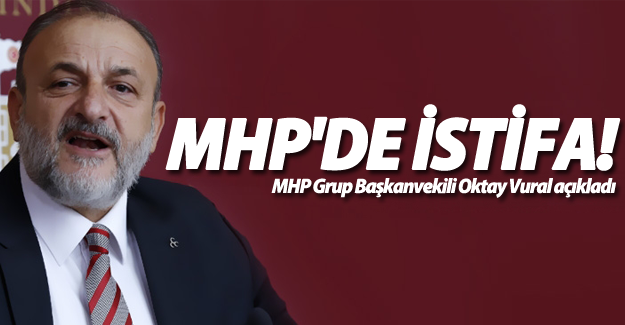 MHP'li Oktay Vural istifa edecek