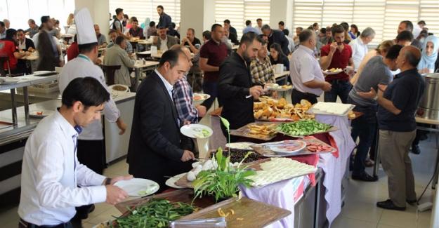 Van Sağlık İl Müdürlüğü'nde Ramazan Öncesi Motivasyon kahvaltısı