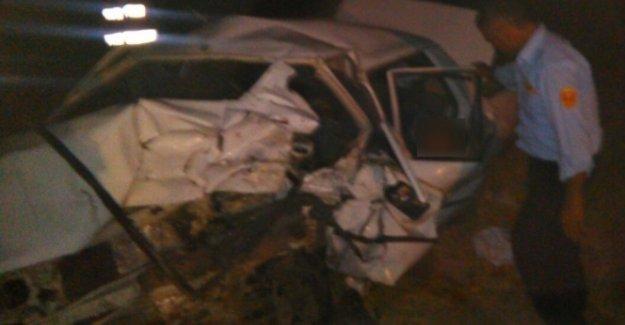 Adıyaman Kahta'daki feci kazada Muzaffer Çoban ve  Mehmet Çoban öldü
