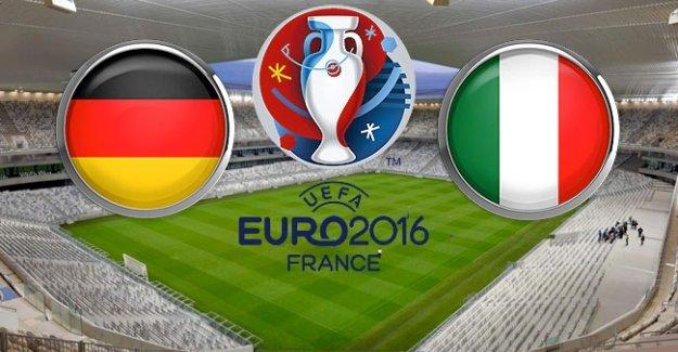 Almanya İtalya EURO 2016 çeyrek final mücadelesi ne zaman hangi kanalda?
