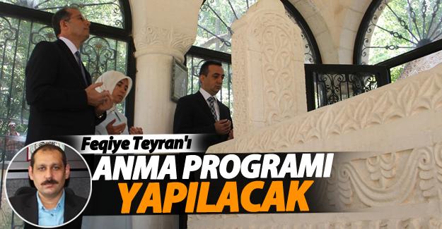 Bahçesaray'da Feqiye Teyran'ı anma programı