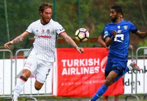 Beşiktaş 1-1 Al Hilal hazırlık mücadelesinin özeti!