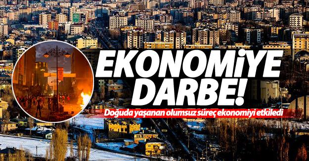 Bölge'de yaşanan olumsuz süreç ekonomiyi olumsuz etkiledi