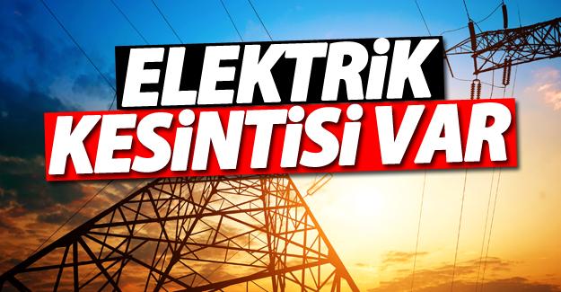 Dikkat! Van'da Elektrik kesintisi uygulanacak! (26 Temmuz 2016)