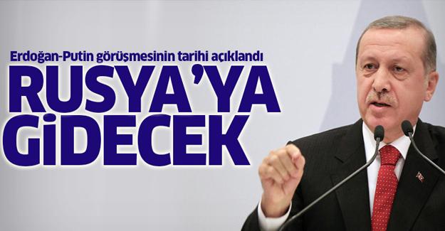 Erdoğan-Putin görüşmesinin tarihi açıklandı