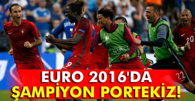Fransa 0-1 Portekiz EURO 2016 müthiş finalin özeti önemli anları!