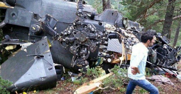 Giresun'da düşen helikopterin düşüş nedeni belli oldu