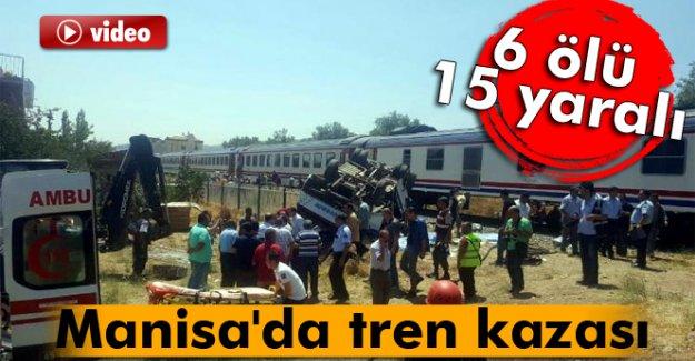 Manisa'da katliam gibi kazada 6 kişi can verdi