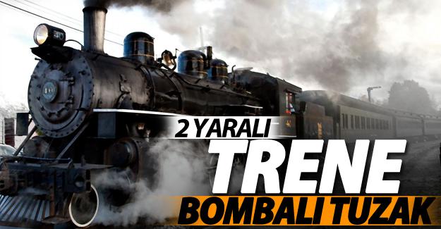 SON DAKİKA! Van'da trene bombalı tuzak: 2 yaralı