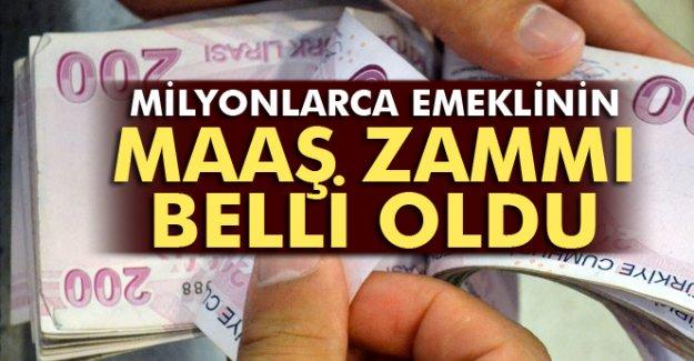 SON DAKİKA!SSK ve Bağkur emeklilerinin maaş zammı belli oldu