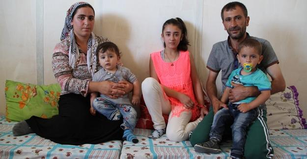Terör mağduru aile yardım bekliyor