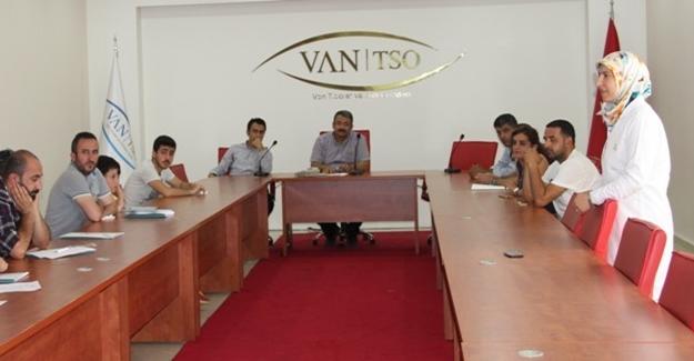 Van'da işletme sahiplerine tütün eğitimi