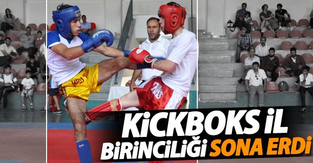 Van'da kickboks il birinciliği sona erdi