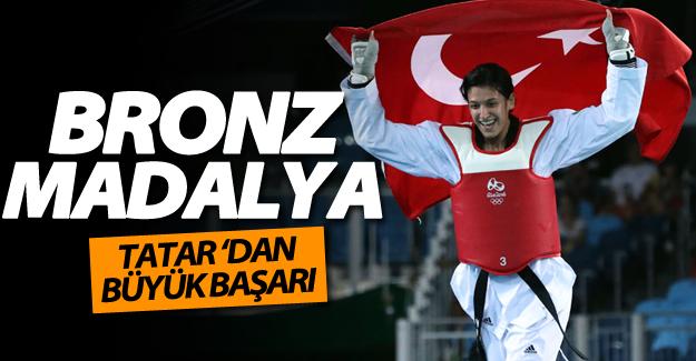 Vanlı tekvandocu Nur Tatar 2016 Rio Olimpiyatları'nda bronz madalya aldı