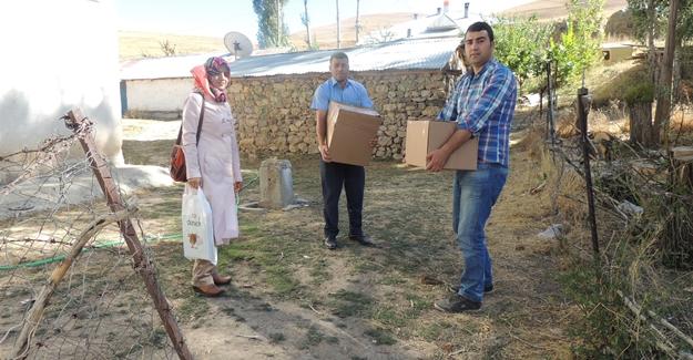 ASP İl Müdürlüğü'nden şehit ve gazi ailelerine yardım