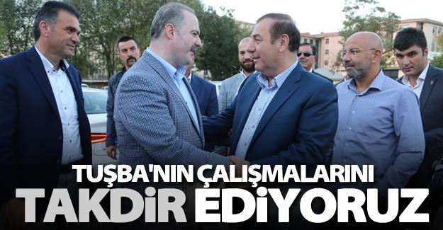 Başkan Kadıoğlu'ndan Tuşba Belediyesi'ne ziyaret