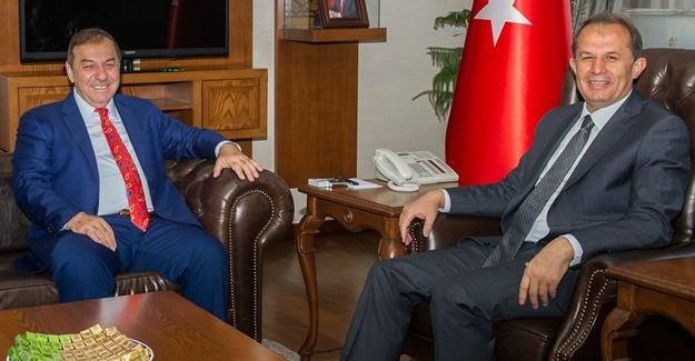 Başkan Kadıoğlu'ndan Vali Taşyapan'a ziyaret